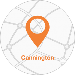 Contact details for Cannington