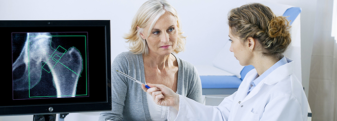 Experts in diagnosing and treating osteoporosis.