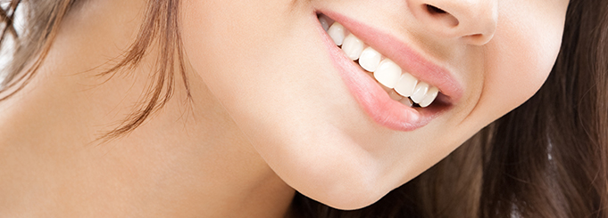 White, natural-looking teeth is possible with professional teeth whitening.